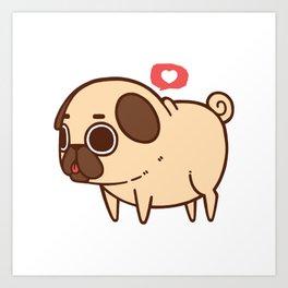 Puglie Heart Art Print