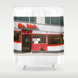 Mr. Wok Shower Curtain