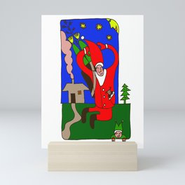 Saint Nicholas - House Mini Art Print