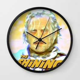 The Shining Poster Style Wall Clock