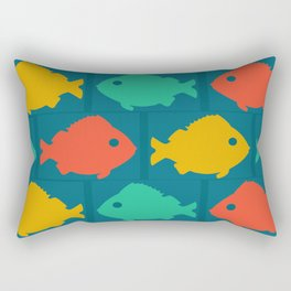 colourful fishes Rectangular Pillow