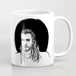 THOR - BLACK AND WHITE Coffee Mug