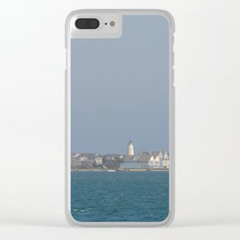 Ocracoke Island from the ferry Clear iPhone Case