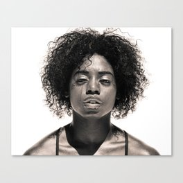 Natasha - Dancer Series 1 Canvas Print