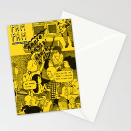 Pam Pam Zine #1 Cover Stationery Cards