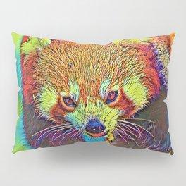 AnimalColor_RedPanda_002_by_JAMColors Pillow Sham