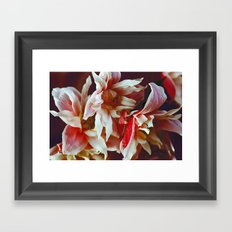 Floral abstract(61) Framed Art Print