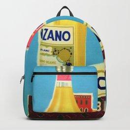 1955 Cinzano Blanc Venice Aperitif Italian Advertisement Poster Backpack
