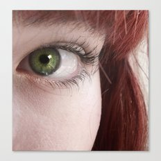 Green and Red Canvas Print