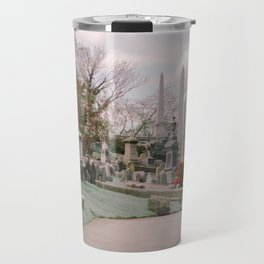 Spring Cemetery Travel Mug
