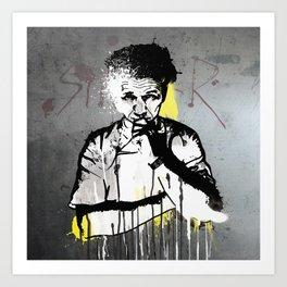 Sinner Ramsay  Art Print