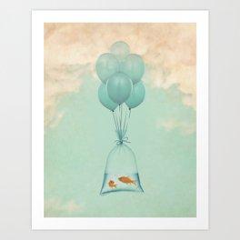Flight to Freedom Art Print