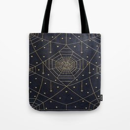 Spider Silk Stars Book Tote Bag