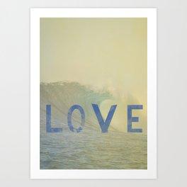 love surf Art Print