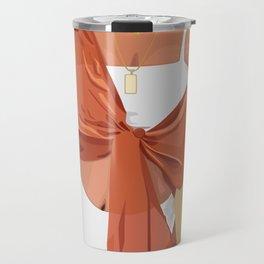 Bathing Suit and Wrap Travel Mug