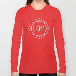 Lam—Root Chakra Mantra Long Sleeve T-shirt