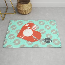 RECORD HEARTBEAT Rug
