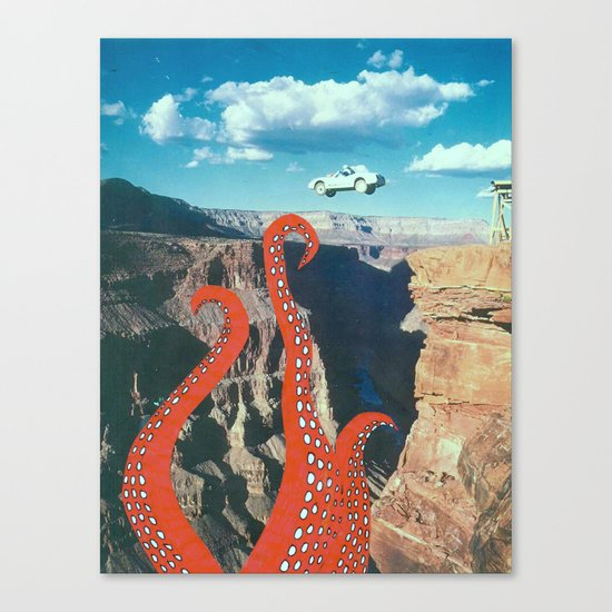 Canyon Canvas Print