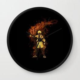 Pirate King Fire Fist Wall Clock