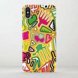 color doodle iPhone Case