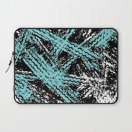Desert Tracks Teal Laptop Sleeve