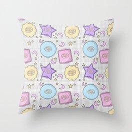 Pocket of Pollys Throw Pillow