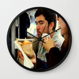 Napkin Hog Wall Clock