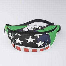 Keith Prodigy Black and Green *All proceeds donated to charity* Fanny Pack