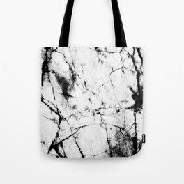 Marble Concrete Stone Texture Pattern Effect Dark Grain Tote Bag