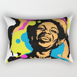 Soul Activism :: Nina Simone Rectangular Pillow