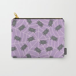 Pastel goth kawaii spiders purple Carry-All Pouch