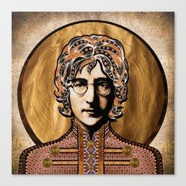 Boho Beatle (John) Canvas Print