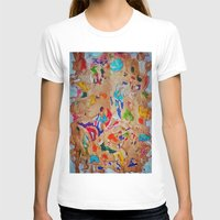 egyptian T-shirts featuring Egyptian papyrus by Sandra Angelini