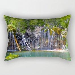 Hanging Lake - Glenwood Canyon, Colorado Rectangular Pillow