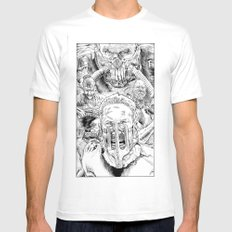 Mad Max Fury Road MEDIUM Mens Fitted Tee White