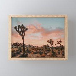 Joshua Tree IX / California Desert Framed Mini Art Print