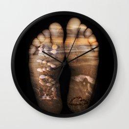 Beach Feet Wall Clock