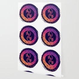 Aquarius Eleventh Zodiac Sign Yin Yang Wallpaper
