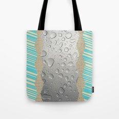 Rain drops Tote Bag