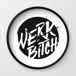 WERK Wall Clock