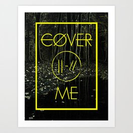 Cover Me Art Print