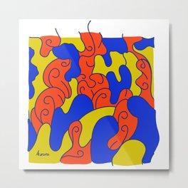 Wallpaper Aurora Metal Print