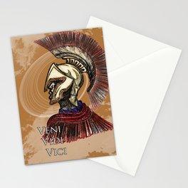 """Julius Caesar  """"I came; I saw; I conquered"""" Stationery Cards"""