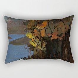 October Print Rectangular Pillow