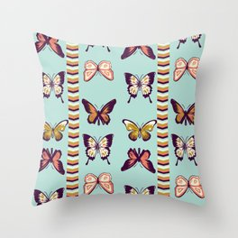 Butterfies II Throw Pillow