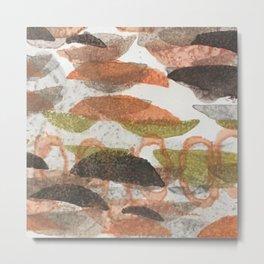 181123 leaf litter Metal Print