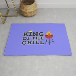 King of the grill Rug
