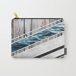 Striped Materials of Nature I Carry-All Pouch