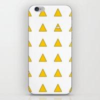 illuminati iPhone & iPod Skins featuring Illuminati by BatNeko