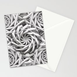 Neon medusa Stationery Cards